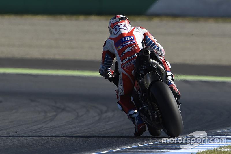 Andrea Dovizioso, Ducati Team, Braking