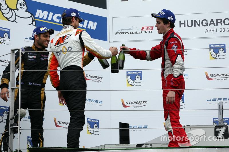 Tom Dillmann, AVF und Aurélien Panis, Arden Motorsport