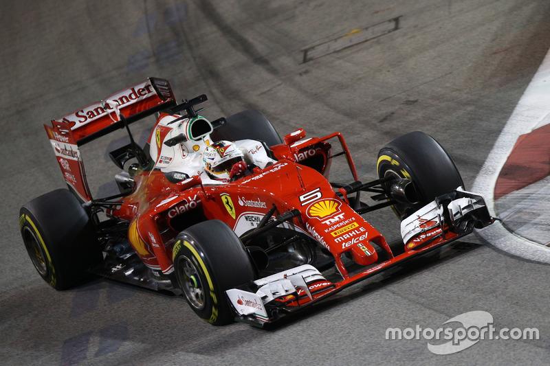 22. Sebastian Vettel, Scuderia Ferrari SF16-H
