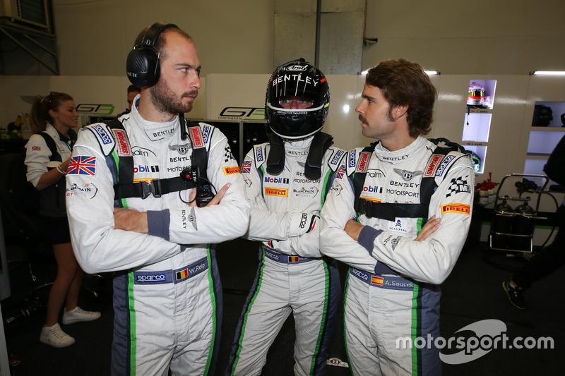 #8 Bentley Team M-Sport, Bentley Continental GT3: Maxime Soulet, Wolfgang Reip, Andy Soucek
