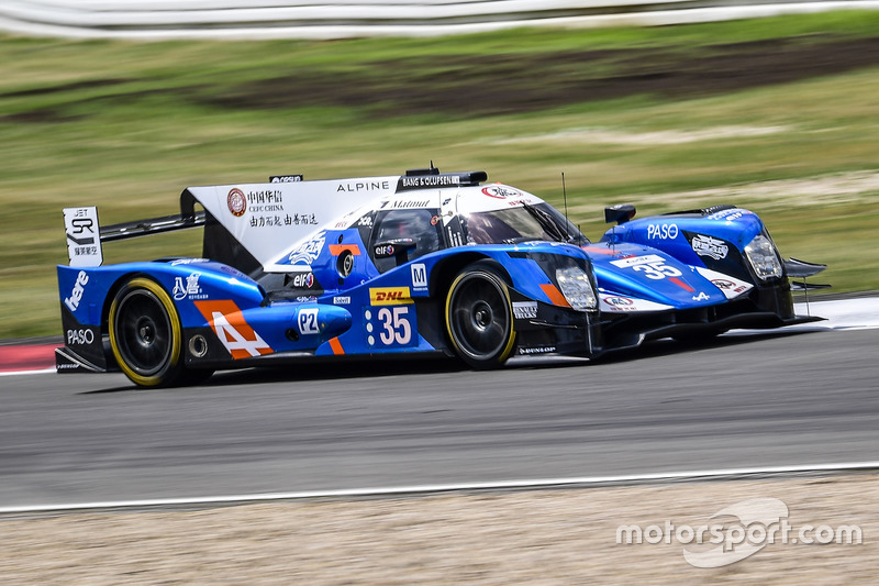 10. LMP2: #35 Baxi DC Racing, Alpine A460 - Nissan