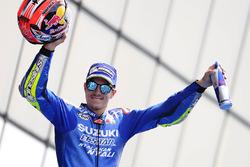 Подіум: третє місце Маверіка Віньялеса, Team Suzuki MotoGP