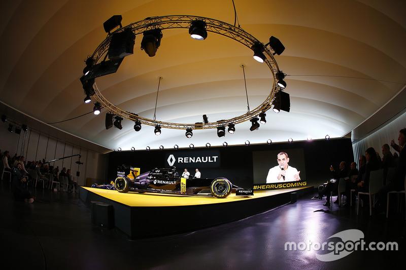Apresentação Renault Sport Formula One Team RS16