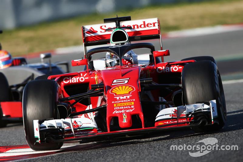 Vergleich: Halo von Ferrari