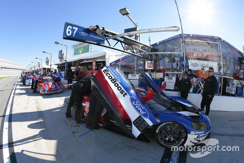 8. Der Ganassi-Ford GT von Ryan Briscoe, Richard Westbrook und Stefan Mücke
