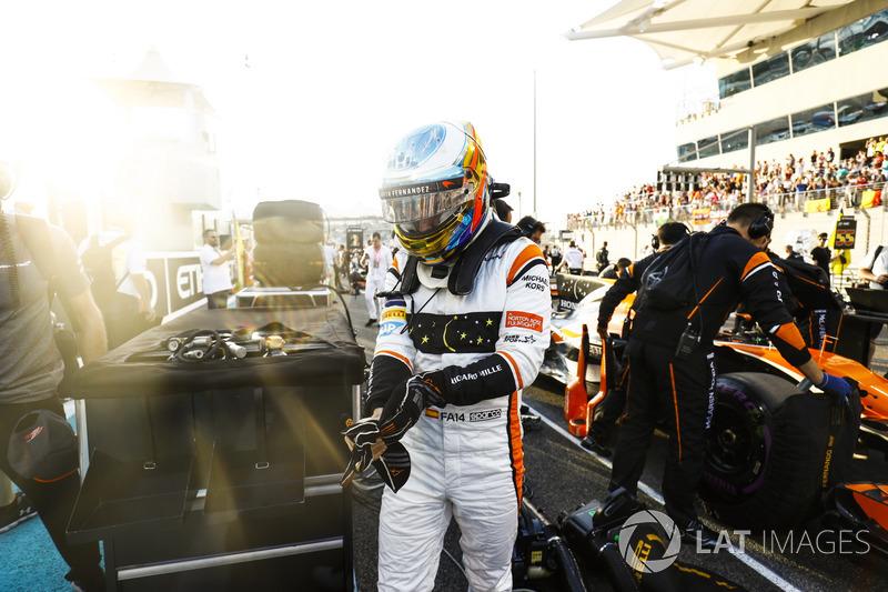 Alonso cierra el año brillando en Abu Dhabi, con vistas a 2018