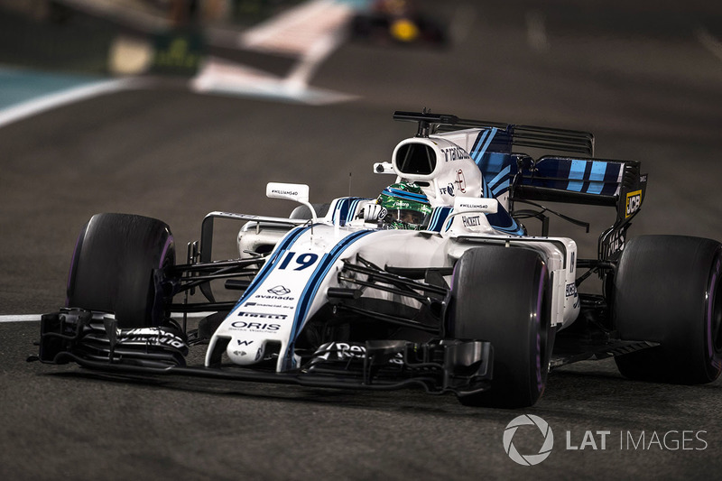 WILLIAMS: Felipe Massa 17 x 2 Lance Stroll