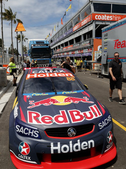 The car of Jamie Whincup, Triple Eight Race Engineering