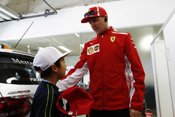 Кімі Райкконен, Ferrari, Ferrari, дитина