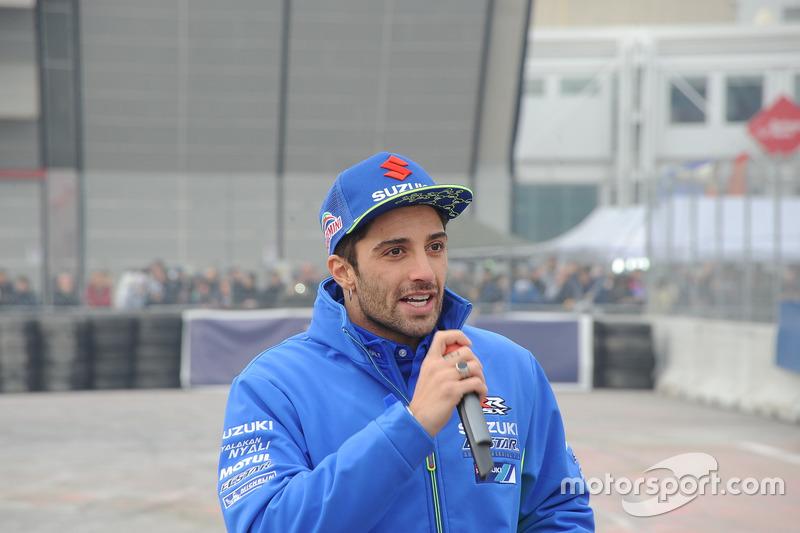 MotoGP Andrea Iannone al Meet di Motorsport.com
