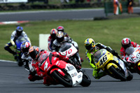 Max Biaggi, Yamaha Factory Racing; Valentino Rossi, Honda