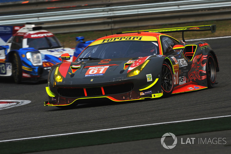 4. GTE-Am: #61 Clearwater Racing, Ferrari 488 GTE