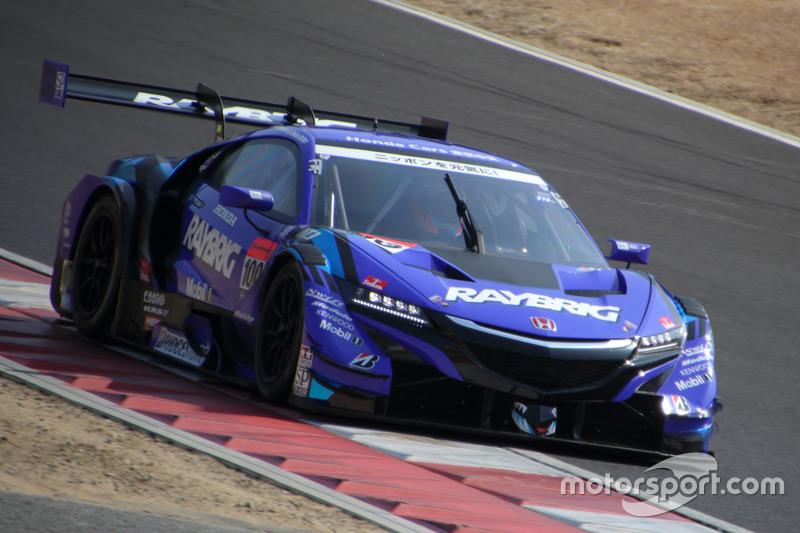Дженсон Баттон и Наоки Ямамото–Team Kunimitsu, №100 (Honda NSX-GT)