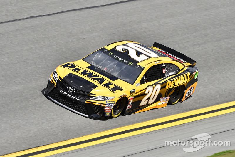 #20: Erik Jones, Joe Gibbs Racing, Toyota Camry