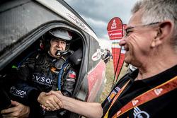 #317 X-Raid Team Mini: Boris Garafulic, Filipe Palmeiro con Sven Quandt