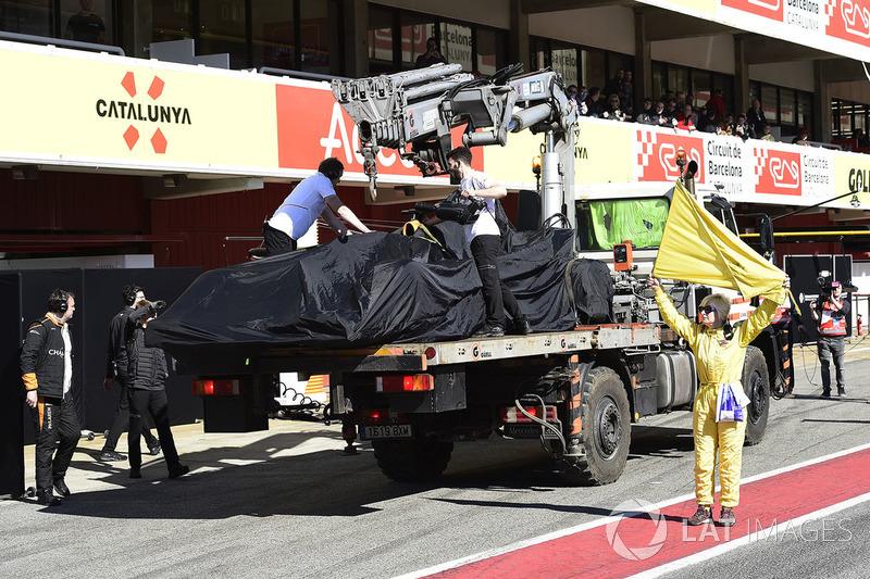 Машина Фернандо Алонсо, McLaren MCL33