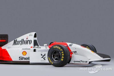 Subasta del McLaren de 1993 de Ayrton Senna