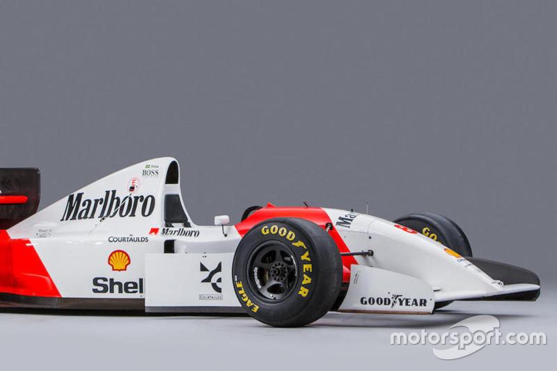 1993 Ayrton Senna McLaren auction