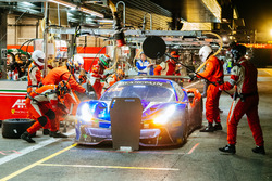 Pit stop, #72 SMP Racing Ferrari 488 GT3: Mikhail Aleshin, Davide Rigon, Miguel Molina
