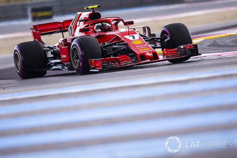 3 місце — Кімі Райкконен, Ferrari. Умовний бал — 25,00