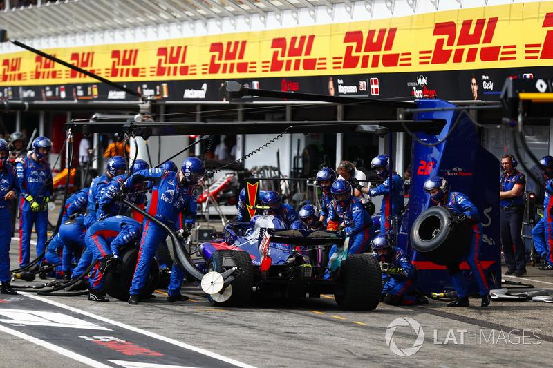 14e : Pierre Gasly (Toro Rosso)