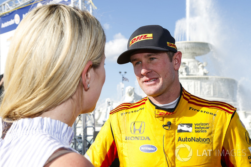 Ryan Hunter-Reay, Andretti Autosport Honda, Winner