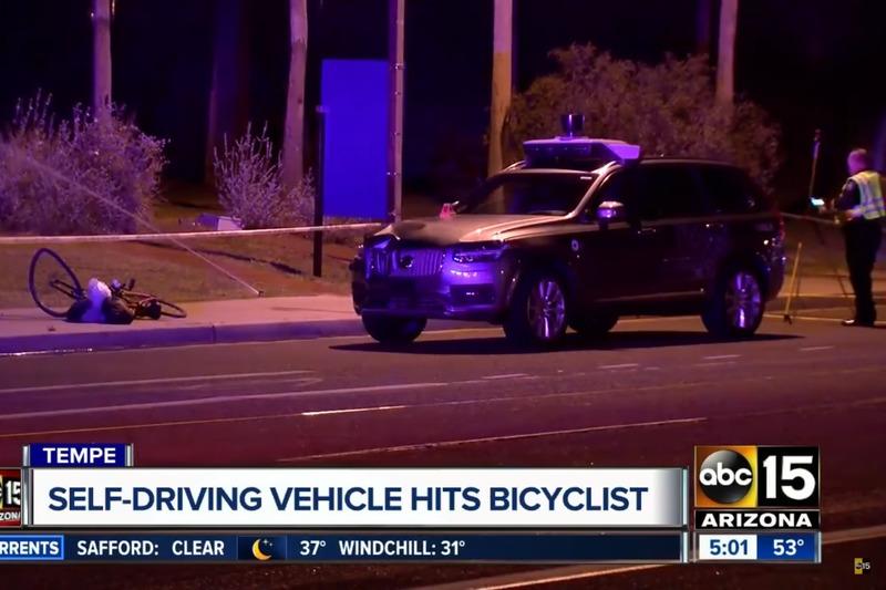 Autó Önvezető módban gázolt halálra egy nőt az Uber egyik autója