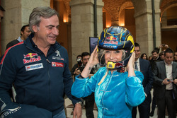 Carlos Sainz, Peugeot Sport, Cristina Cifuentes, Presidente de la Comunidad de Madrid