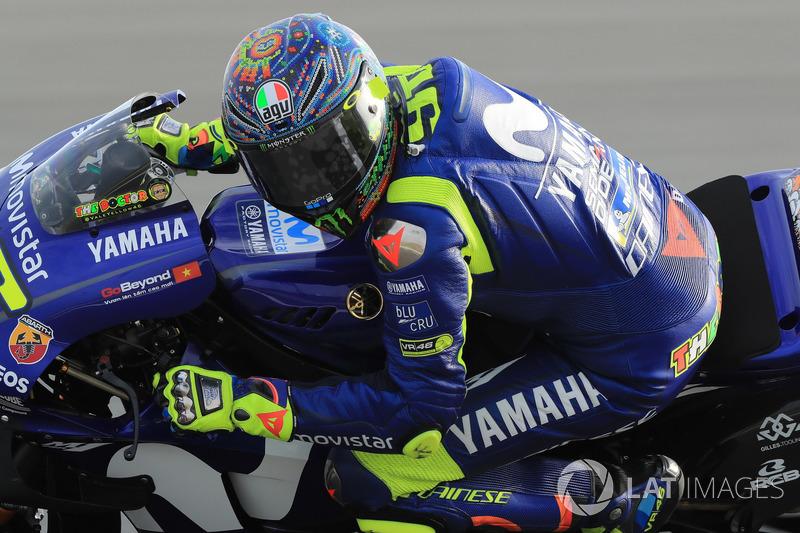 Essais hivernaux - Valentino Rossi