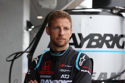 #100 Team Kunimitsu Honda NSX Concept GT: Jenson Button
