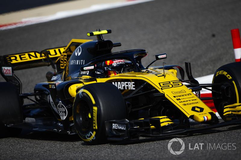 11 місце — Карлос Сайнс, Renault. Умовний бал — 9,823