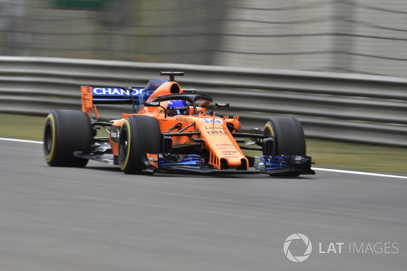 10. Fernando Alonso, McLaren MCL33