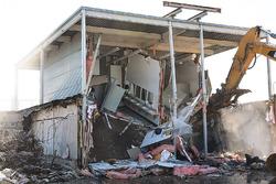 Paddock demolition