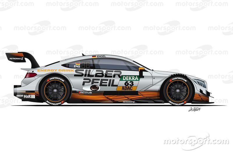 Maro Engel, , Mercedes-AMG Team HWA, Mercedes-AMG C63 DTM