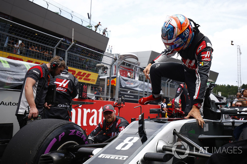 Romain Grosjean, Haas F1 Team Team.