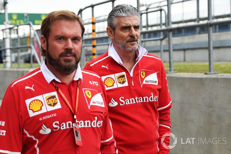 Джіно Розато, Ferrari, керівник команди Ferrari Мауріціо Аррівабене