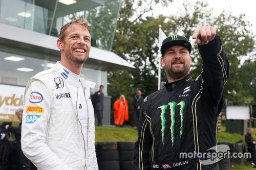 Jenson Button, Ralikrossz teszt
