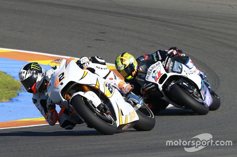 Alex Rins, Team Suzuki MotoGP; Karel Abraham, Aspar MotoGP Team