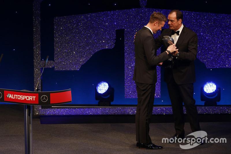 Gordon Shedden Von el premio al Piloto Nacional del año