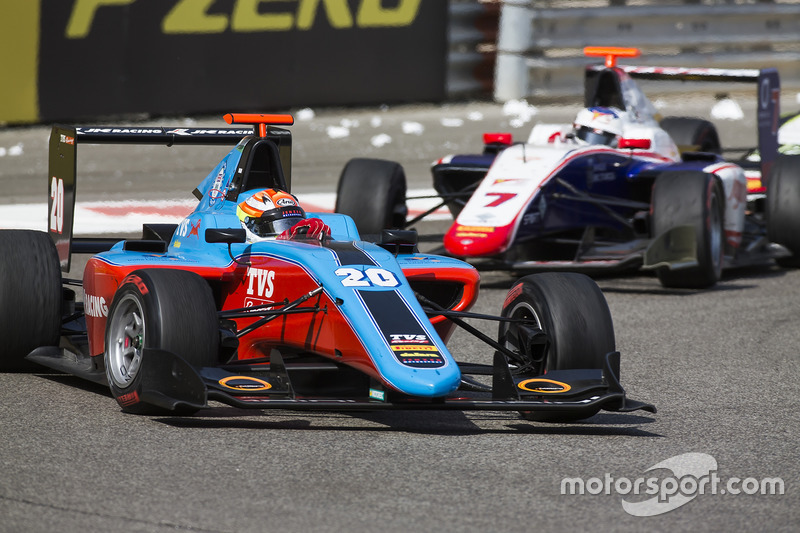 Arjun Maini, Jenzer Motorsport y Giuliano Alesi, Trident