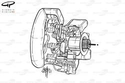 McLaren MP4-16 steering wheel