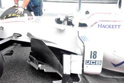 Williams FW40: Windabweiser