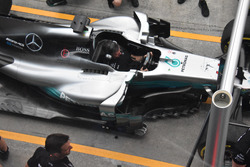 Mercedes AMG F1 W08 barge boards