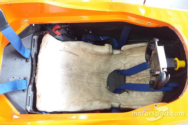 Kokpit Mygale M14-F4 Formula 4 SEA
