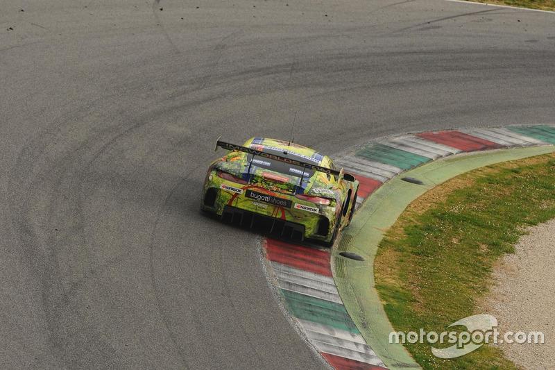 #16 SPS automotive performance, Mercedes AMG GT3: Valentin Pierburg, Tim Muller, Jurgen Krebs