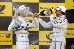 Podium: 1. Maro Engel, Mercedes-AMG Team HWA, Mercedes-AMG C63 DTM, Bruno Spengler, BMW Team RBM, BMW M4 DTM