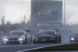 Maxime Martin, BMW Team RBM, BMW M4 DTM, Maro Engel, Mercedes-AMG Team HWA, Mercedes-AMG C63 DTM