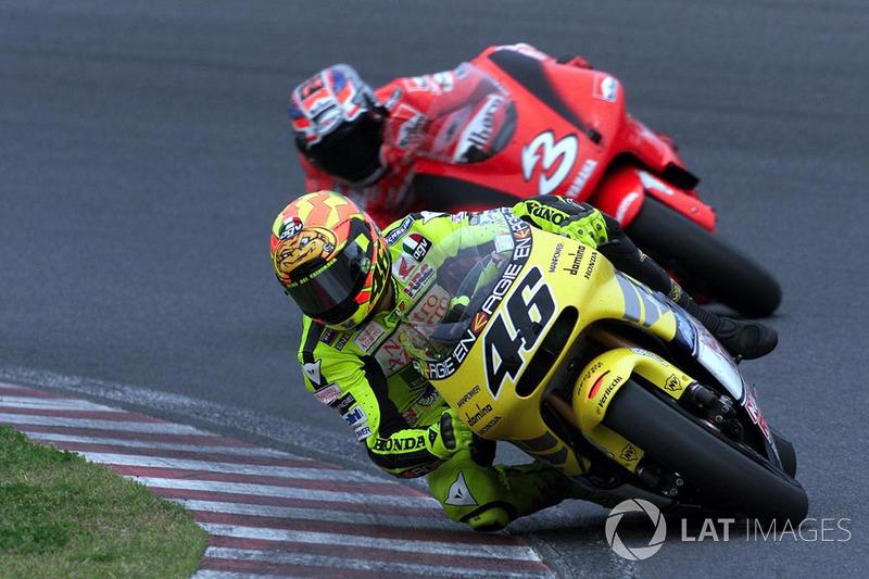 #7: Valentino Rossi (2001, Honda)