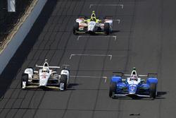 Элио Кастроневес, Team Penske Chevrolet, Такума Сато, Andretti Autosport Honda, Эд Джонс, Dale Coyne Racing Honda