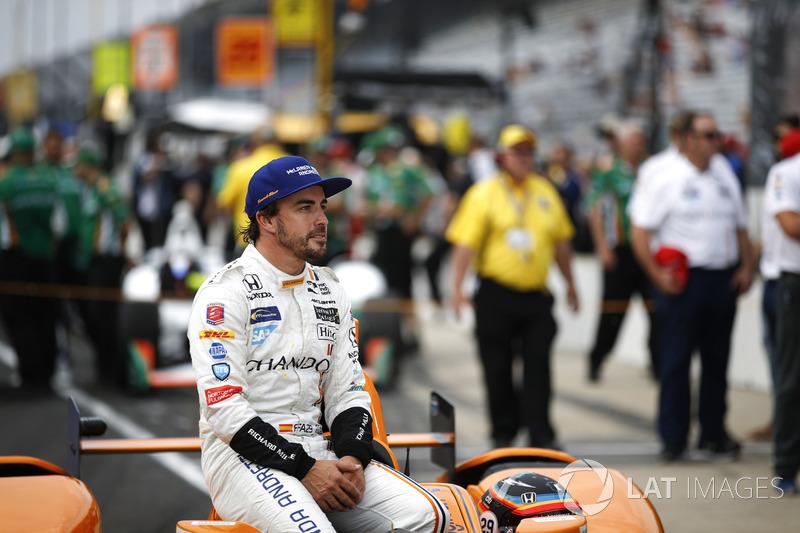 Фернандо Алонсо – гонкой Indy 500